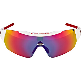 Rudy Project Ergomask Glasses white gloss/red